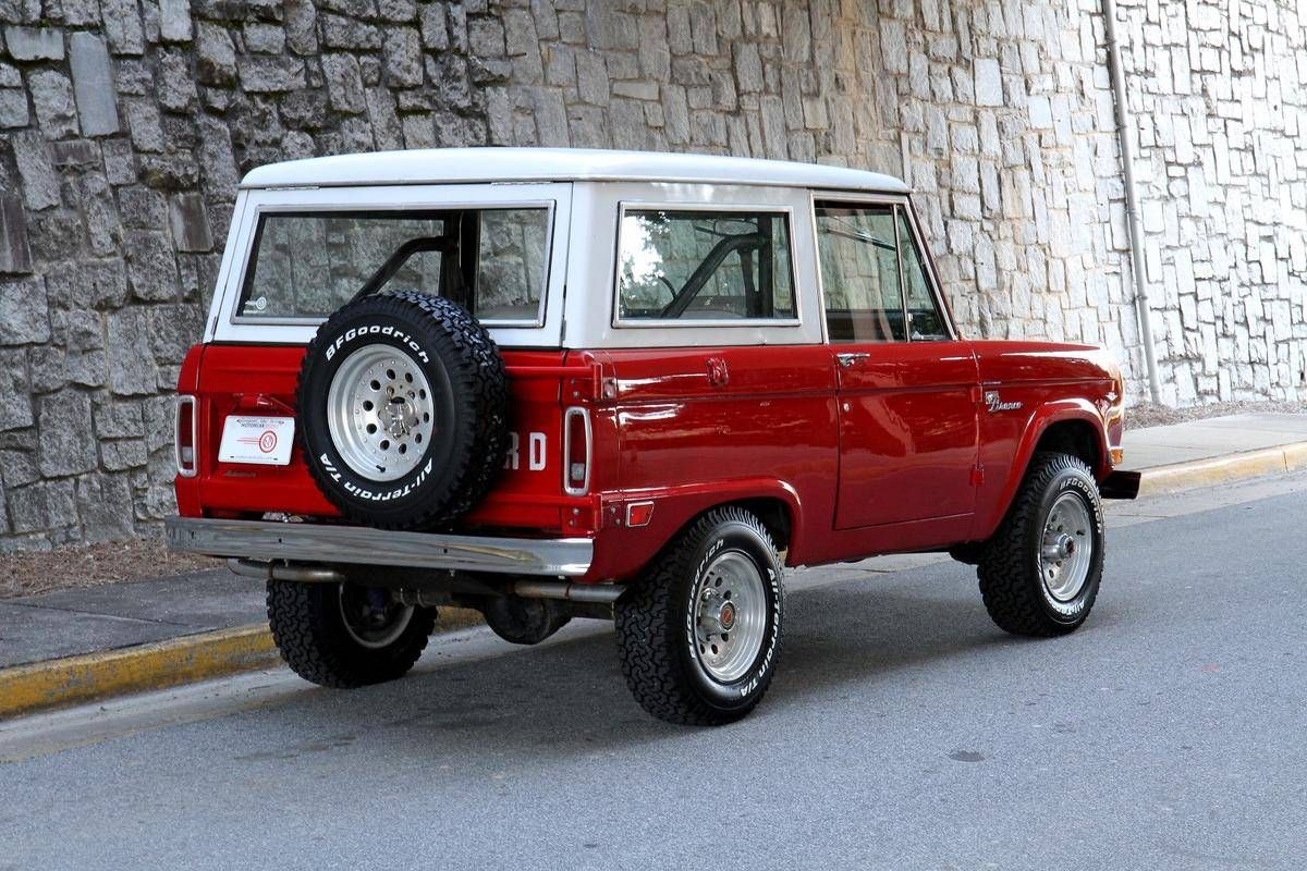 1968 Ford Bronco Sport for sale 1725949 Ford bronco
