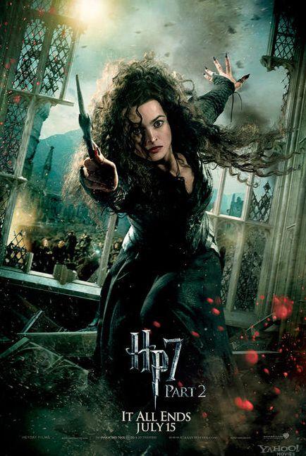 Bellatrix Lestrange Black Harry Potter Deathly Hallows Bellatrix Lestrange Harry Potter Movies