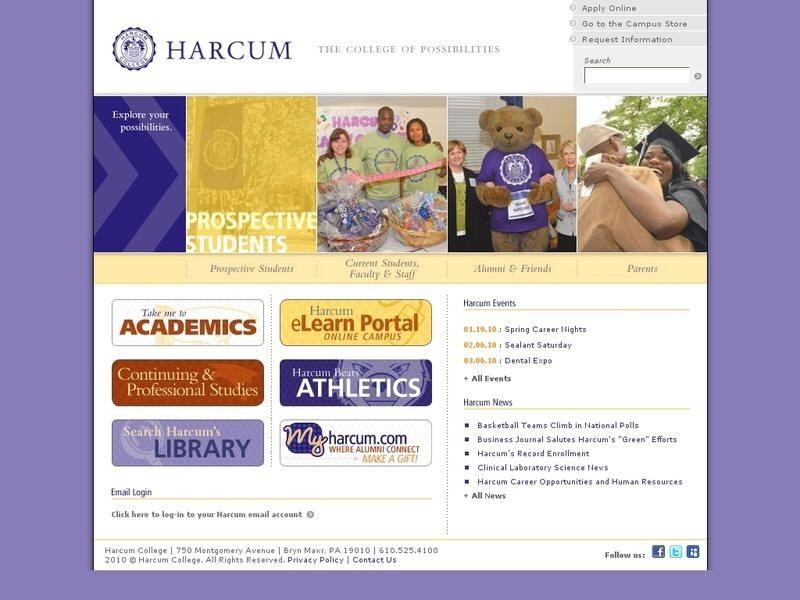 Harcum college admissions essay