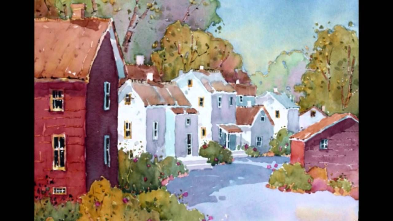 Original Paintings of Beautiful Places by Joyce Hicks, AWS. http://youtu.be/H7UuG-29oh8
