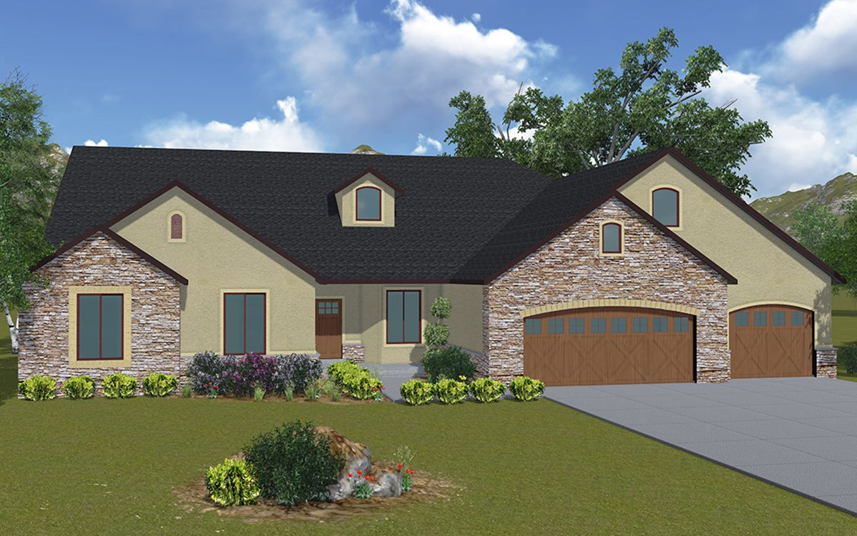Addison - A traditional style rambler house plan - Walker ... on 3 story home designs, coastal home designs, traditional ranch home designs, single story home designs, country home designs, 2015 home designs, unusual home designs, 1969 home designs, geo home designs, southwest adobe home designs, farmhouse home designs, carriage house home designs, lakeside home designs, nigerian home designs, rambler house plans and designs, 1959 house designs, affordable home designs, small rambler designs, popular home designs, stylish eve home designs,