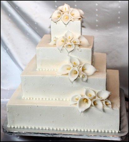 White Chocolate Ganache Frosting Wedding Cake Cakes Pinterest