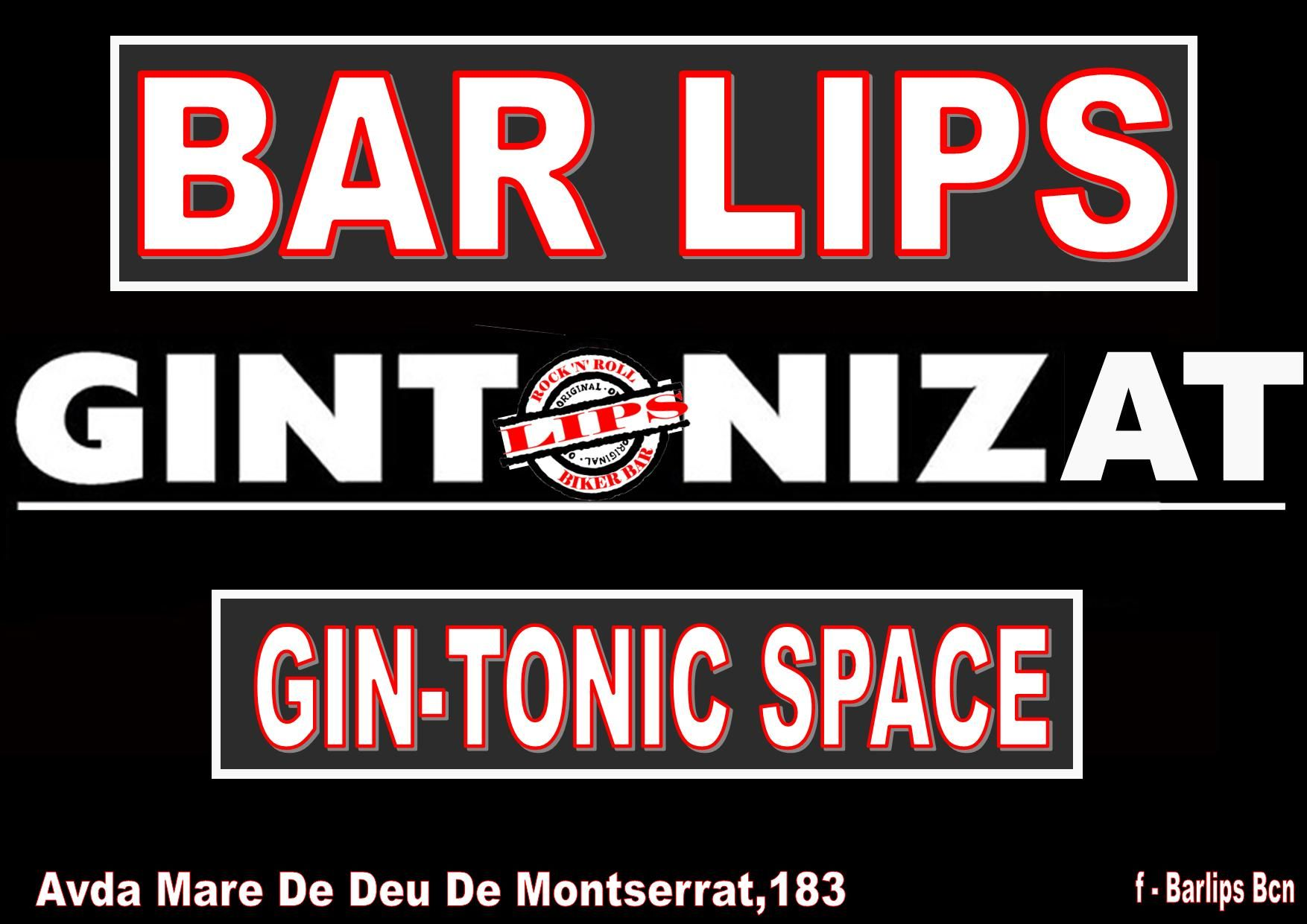 LIPS BAR GIN-TONIC SPACE
