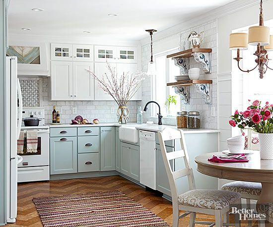 Cottage Kitchen Design and Decorating | White cottage ...