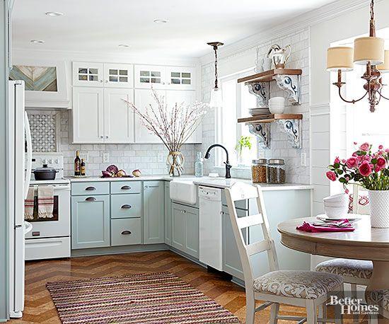 Charming Cottage Kitchen Makeover Cottage Kitchen Design