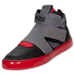 The Puma El Rey Future Athletic Casual Shoes have a modern high-top shoe  design 9bb5a18bd