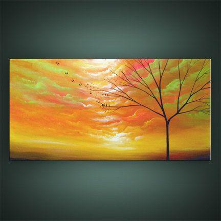 art painting abstract original painting wall art by mattsart, | Art ...