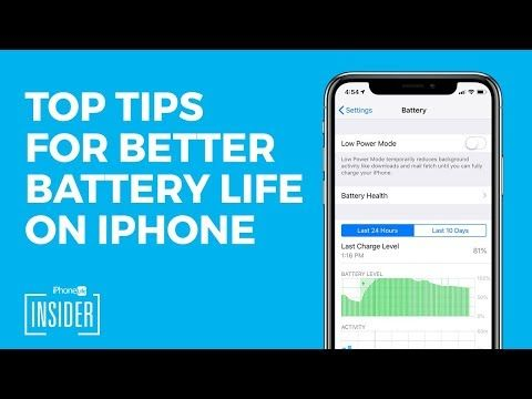 How to Save Battery on iPhone or iPad iOS 12 Draining Your