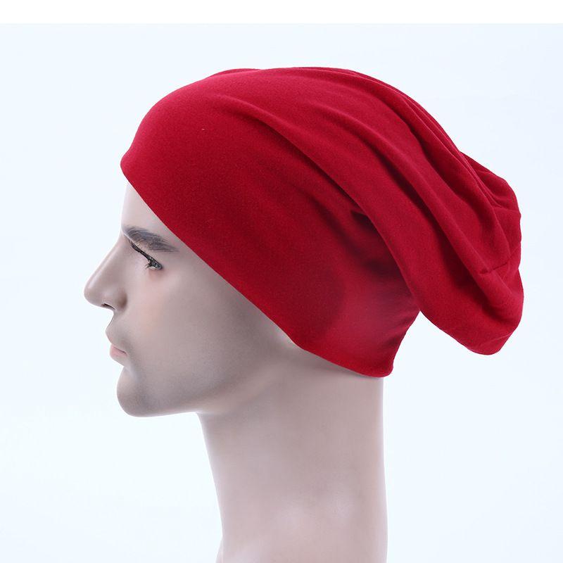 7a72bd91b32 Wholesale 10pcsCB Blank Men Slouch Beanies Caps Mens Spring Plain Skullcap  Womens Polyester Skullies Beanie Hat