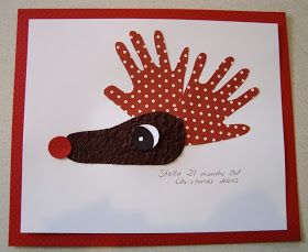 mousehouse: DIY kids art for christmas