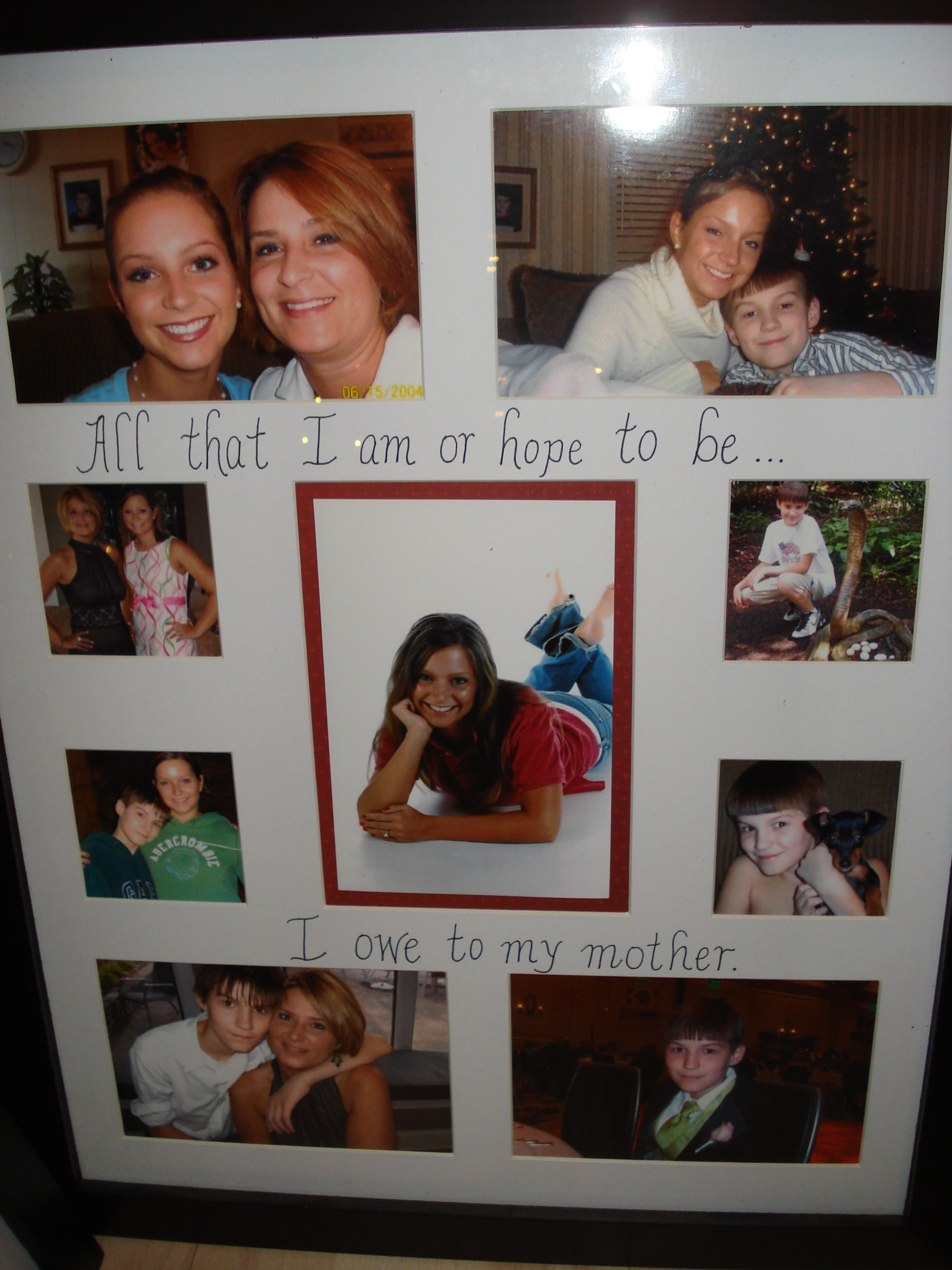 Personalized collage frame | My Creations | Pinterest