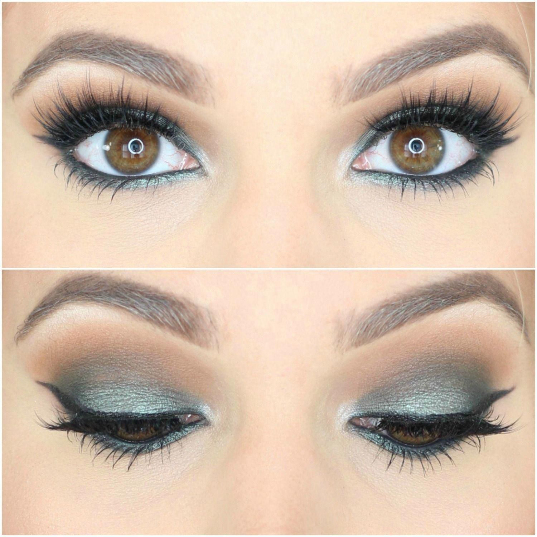 Jaclyn Hill Morphe Palette Looks on Brown Eyes Green