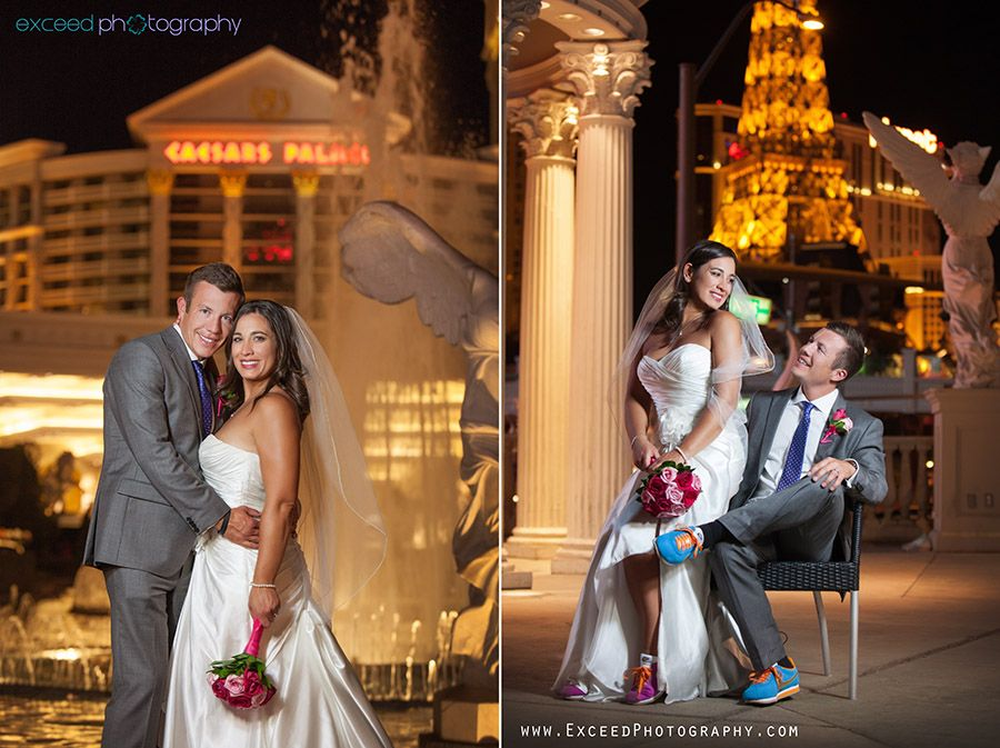 Las Vegas Wedding Photographers Exceed Photography Strip Photo Tour