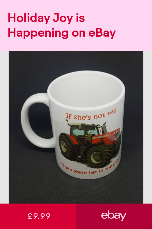 Mugs Collectables ebay Tractor gift, Coffee humor, Mugs