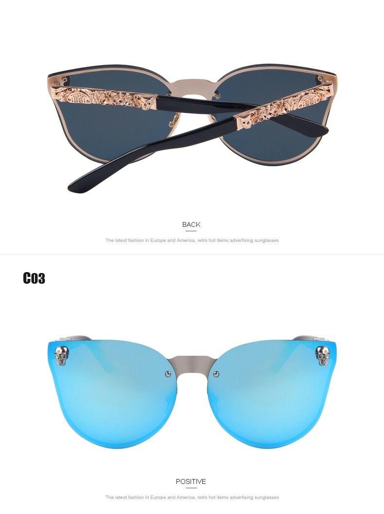 097ad44c6 $20.79 - Cool MERRY'S Fashion Women Gothic Eyewear Skull Frame Metal Temple Oculos  de sol UV400 - Buy it Now! #bikinishoponline #beach #beachwear #bikini ...