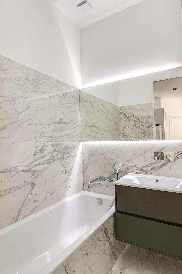 Avantaprès Appartement Paris Design Et Charme Haussmannien - Salle de bain d exception