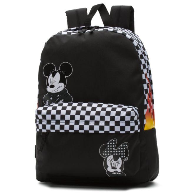Vans vans x mickey's punk mickey realm backpack [womens