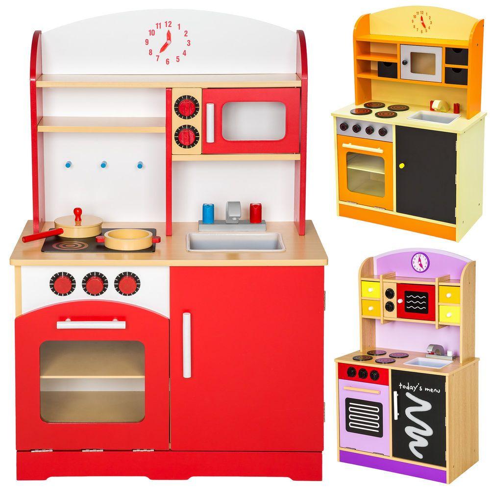 Details zu Kinderküche aus Holz Kinderspielküche Spielküche ...