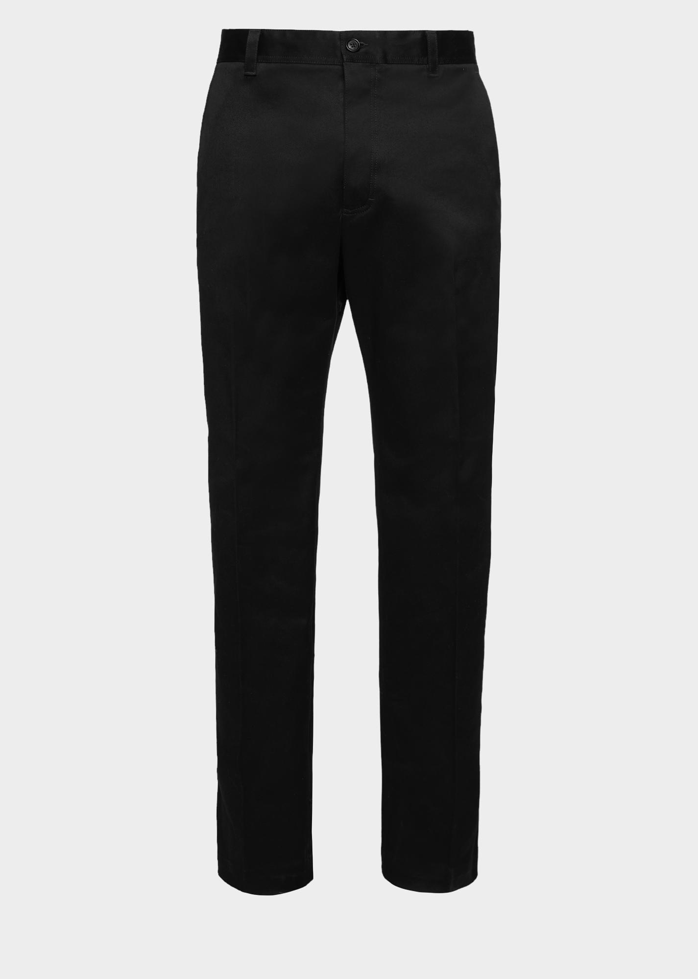 Versace Cotton Pants Versace Cloth Black Trousers Men Black Pants Men Cotton Pants