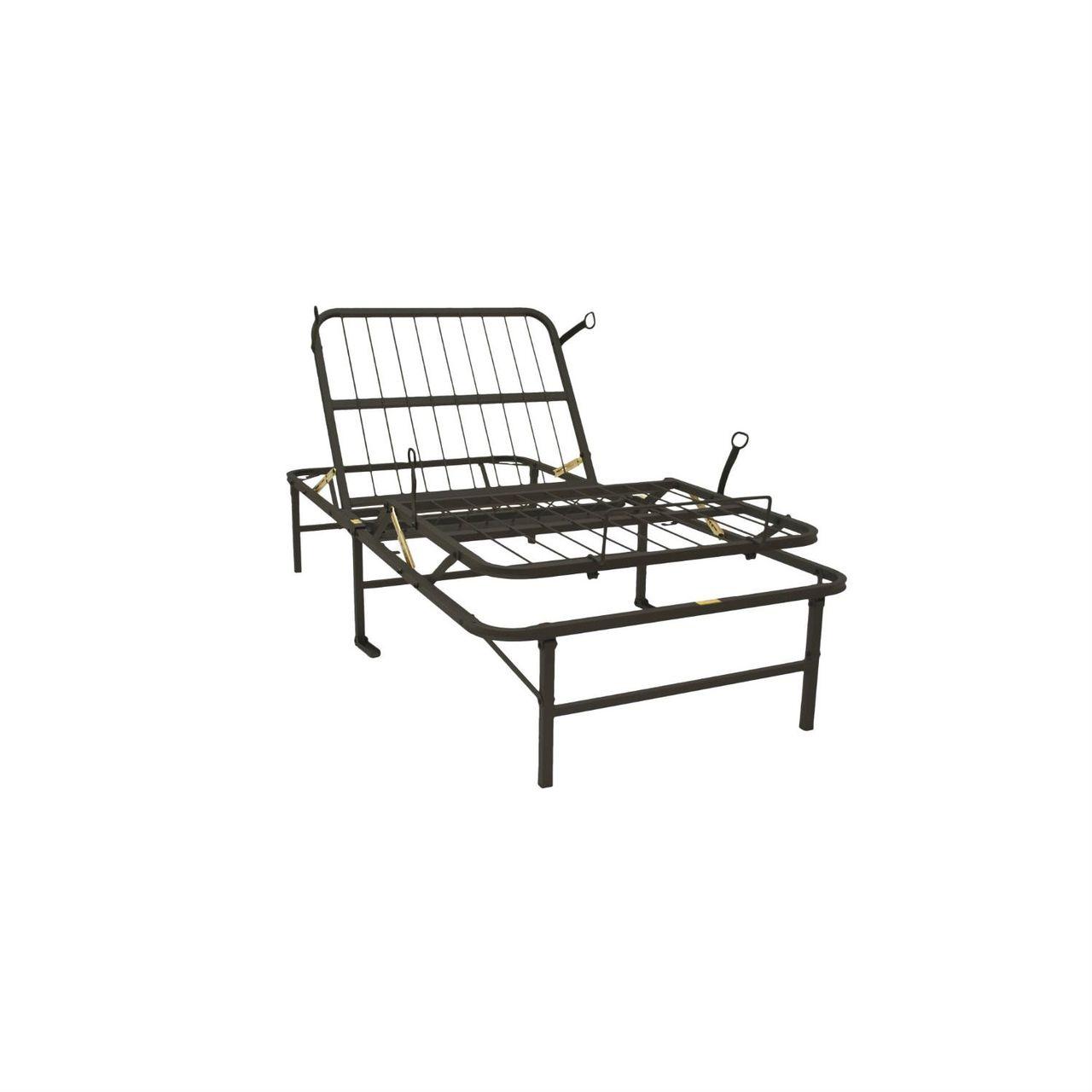 Best Twin Xl Metal Platform Bed Frame Manual Adjustable Bed 400 x 300
