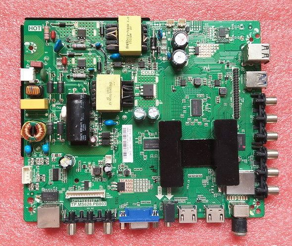 Tp Ms628 Pb803 Smart Led Tv Board Schematic Diagram Pdf