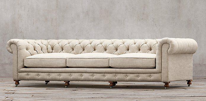 This Couch Restoration Hardware Kensington