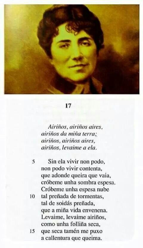 Rosalia Poemas Cortos Frases Y Poemas Historia De La Literatura