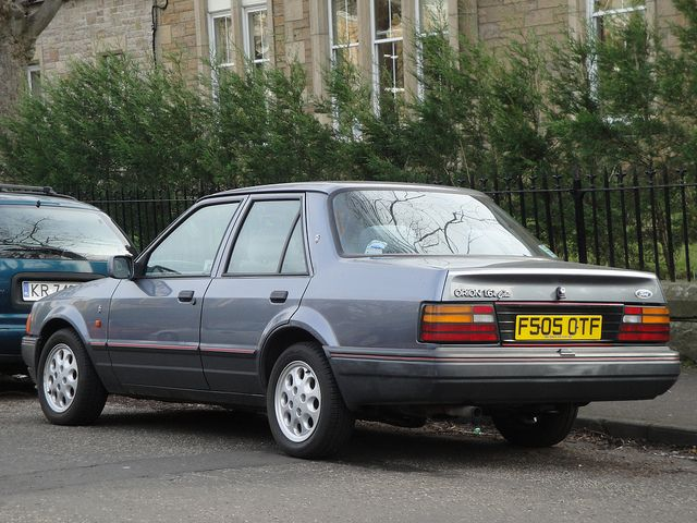 Ford Orion 1 6 Ghia Ford Orion Retro Cars Car Ford