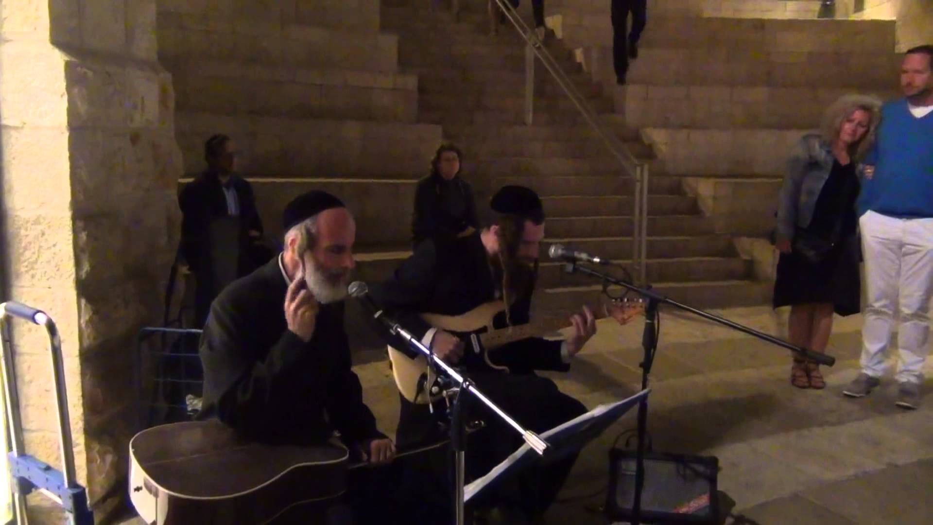 orthodox jewish musicians play clapton in the jerusalem s mall 5