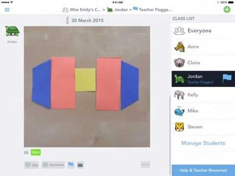 Seesaw How to Use Teacher Flags YouTube Student