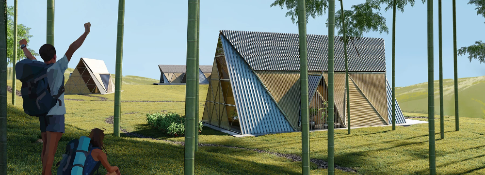 3modular Creates Bamboo Homes For Earthquake Stricken Regions Of Nepal Bamboo Region Nepal