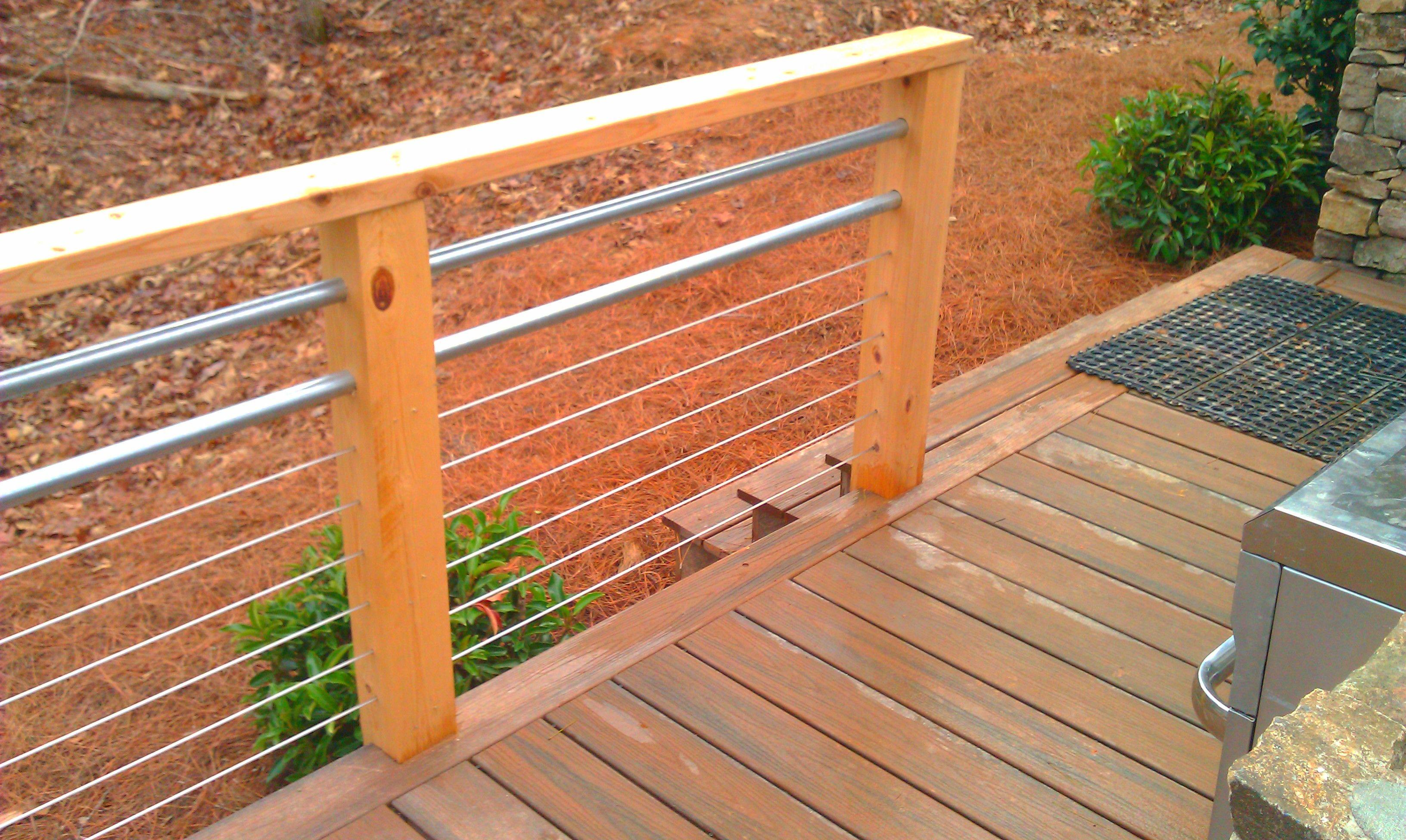Deck Railings In Atlanta Marietta Alpharetta Vinings