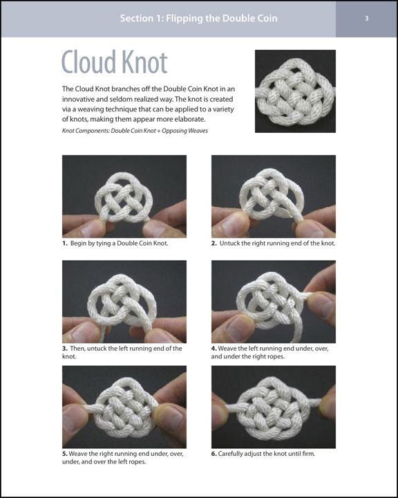 Cloud Knot With Images Knots Knots Diy Macrame Knots