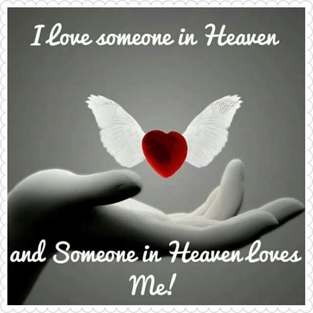 Ich Liebe Jemanden Im Himmel Und Jemand Im Himmel Liebt Mich I