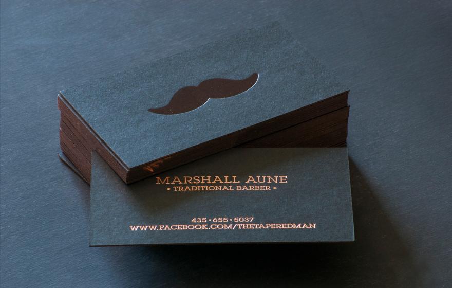 Traditional Barber - Business Card Design Inspiration | Card Nerd ...
