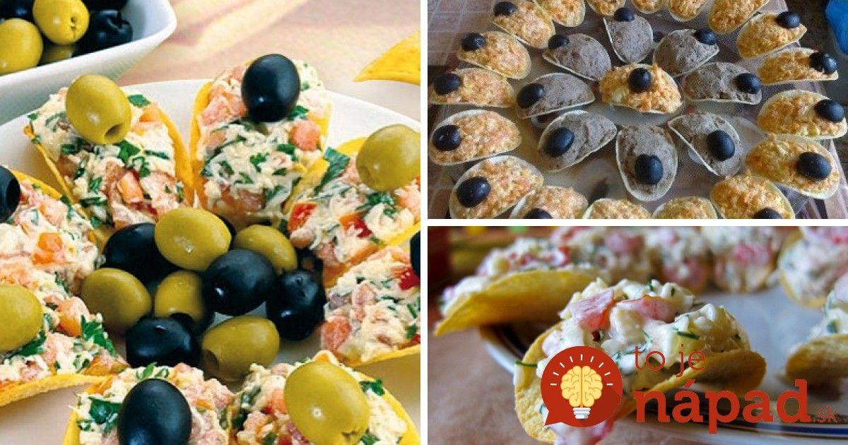 Originálne a veľmi chutné. Pripravte pre svojich hostí jednohubky servírované na zemiakových lupienkoch.