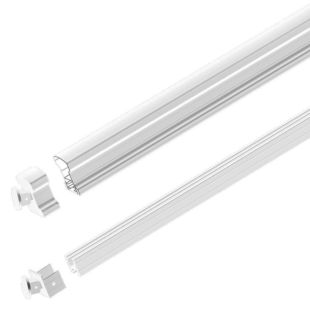 Best Peak Aluminum Railing White 6 Ft Aluminum Stair Hand And 400 x 300