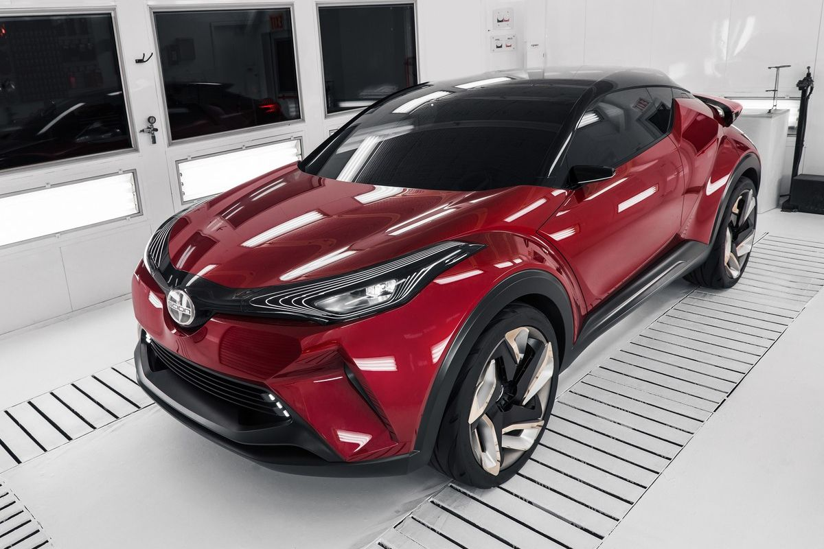 Toyota scion reveals its rendition of the c hr concept at the 2015 la auto show toyota chr pinterest world cars and news