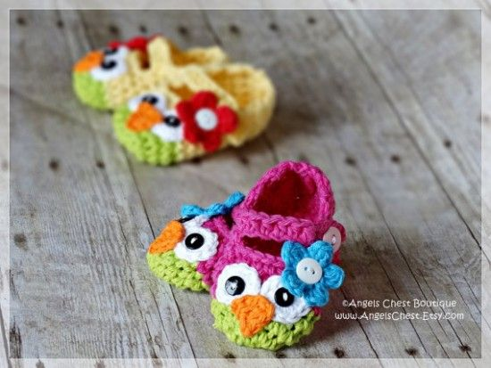 Crochet owl mary jane slippers pattern booties crochet owl and crochet owl mary jane slippers pattern easy video tutorial dt1010fo