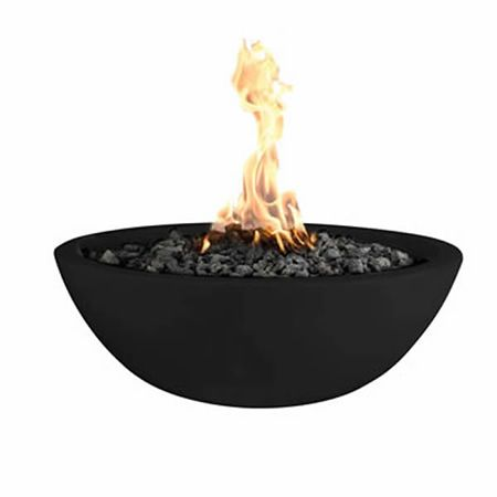 Made In The Usa From Quality Glass Fiber Reinforced Concrete This Fire Pit Features Seven Different Colors Allowing You Fire Bowls Fire Pit Fire Pit Materials