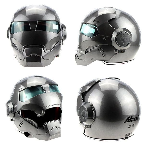 Iron Man Motorcycle Helmet - Masei