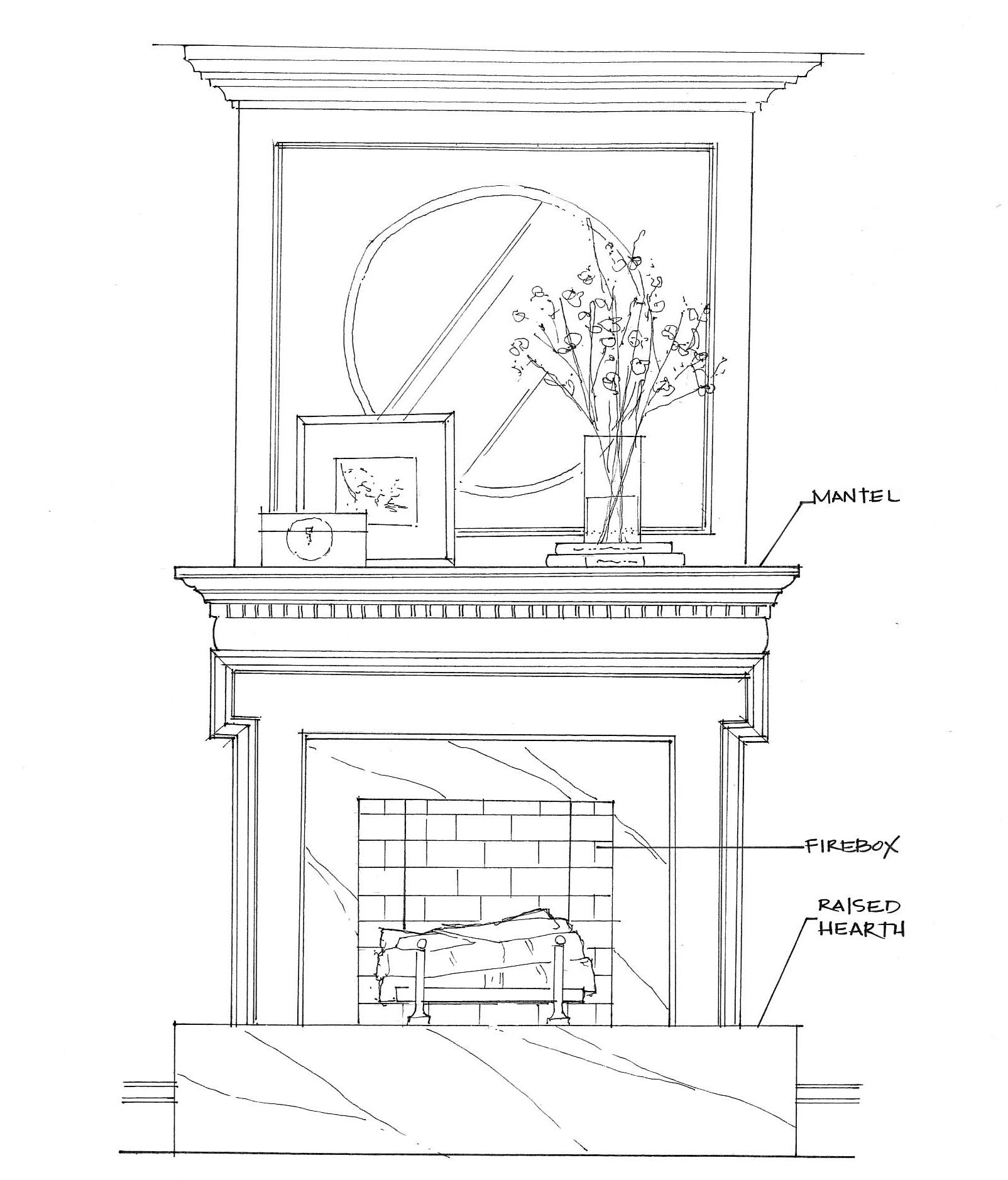 Fireplace Anatomy for the Holidays | Fireplace | Pinterest ...