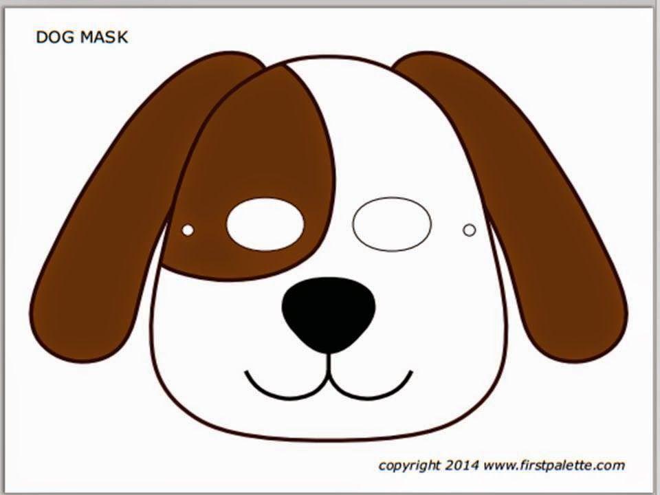 Mascaras De Animais Coloridas Mascaras De Animais Artesanato