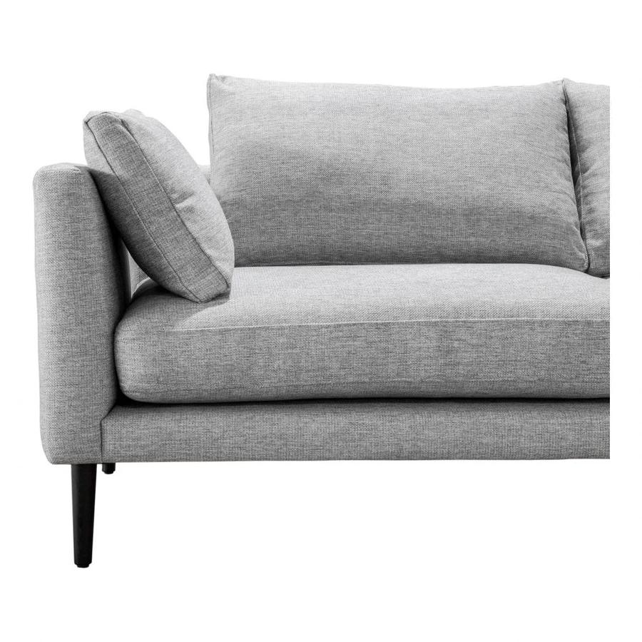 Santorini Sofa Light Grey In 2020 Modern Leather Sofa Gold Sofa Sofa