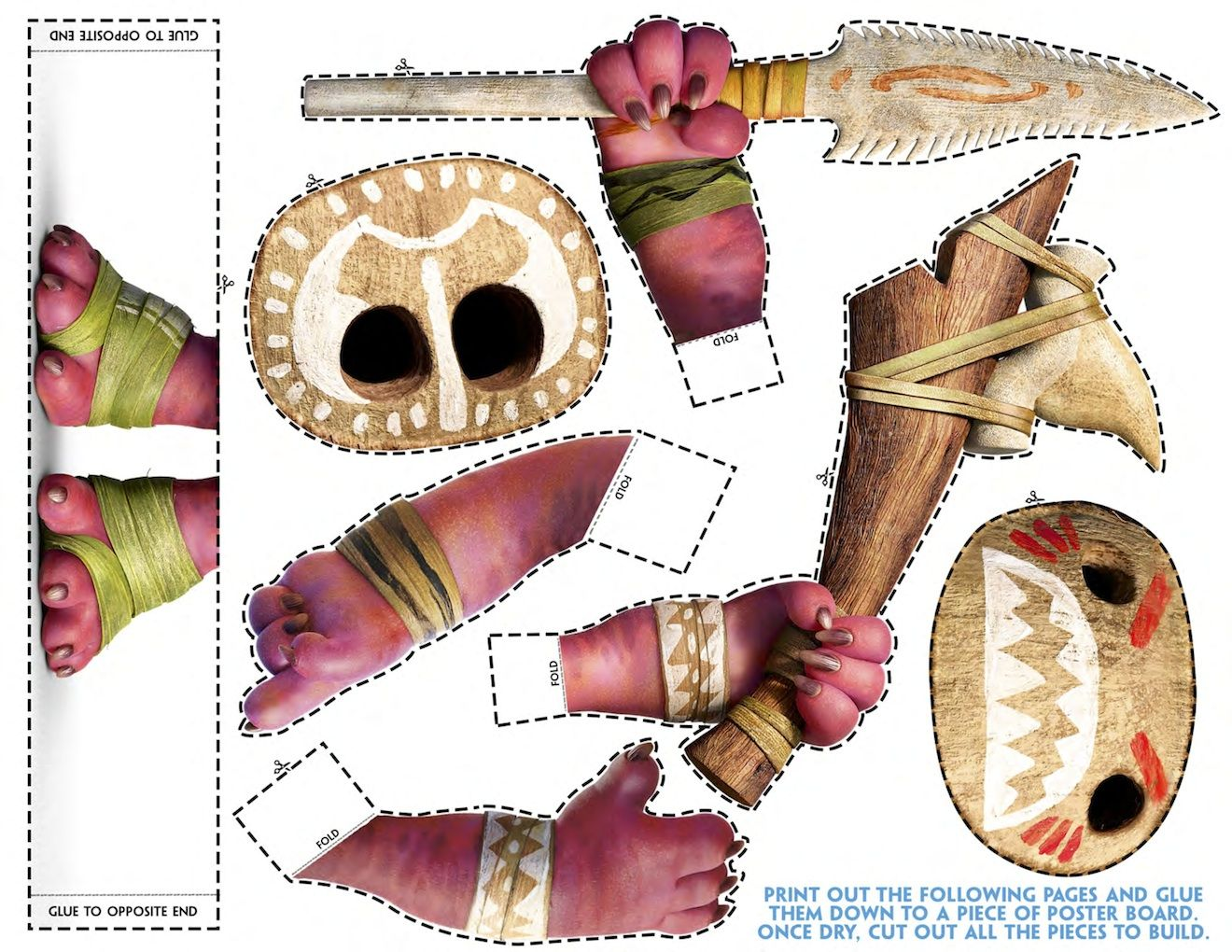 Free printable moana coloring and activity sheets rykhai st bday