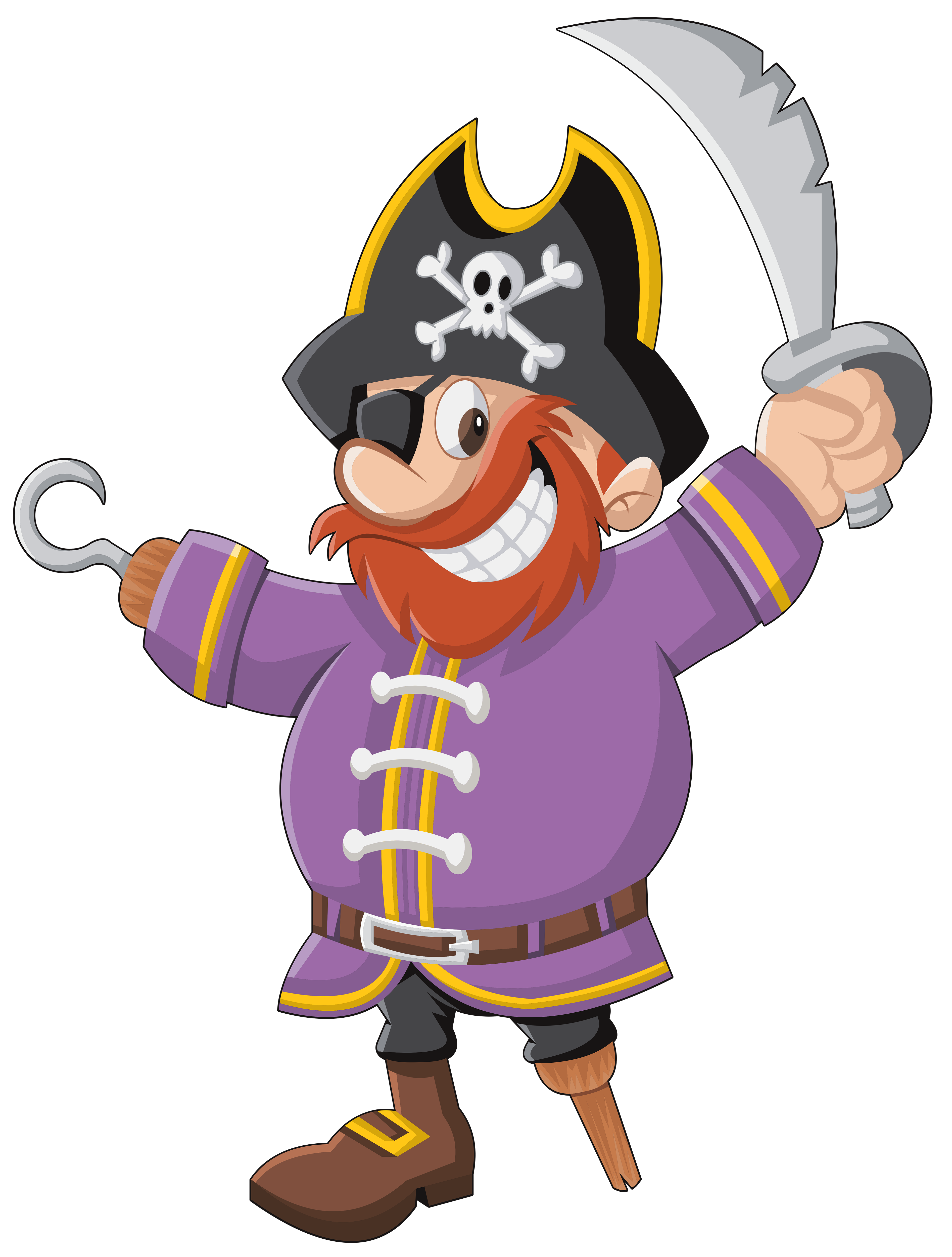 Авангард, картинки пирата