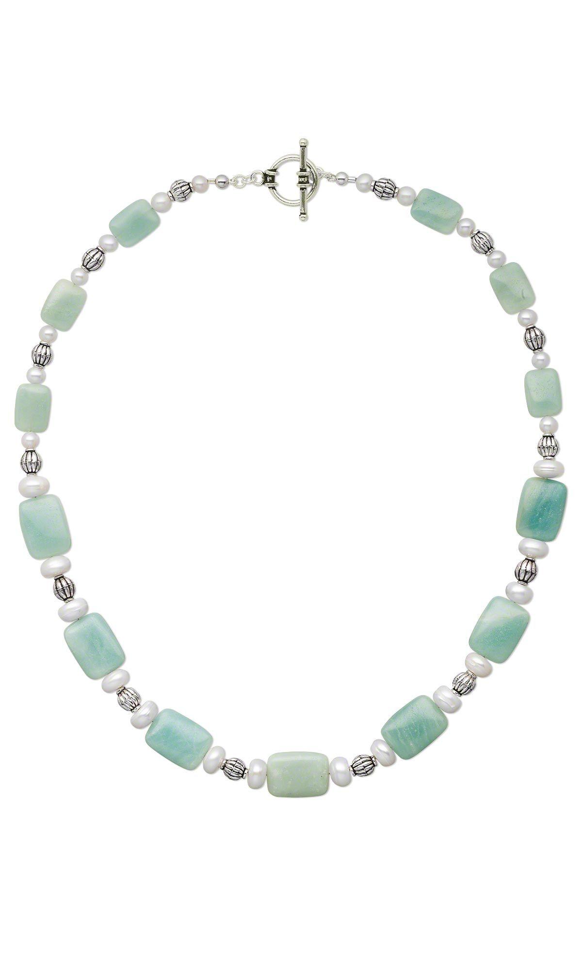 DIY Jewelry Design - Single-Strand Necklace with Amazonite ...