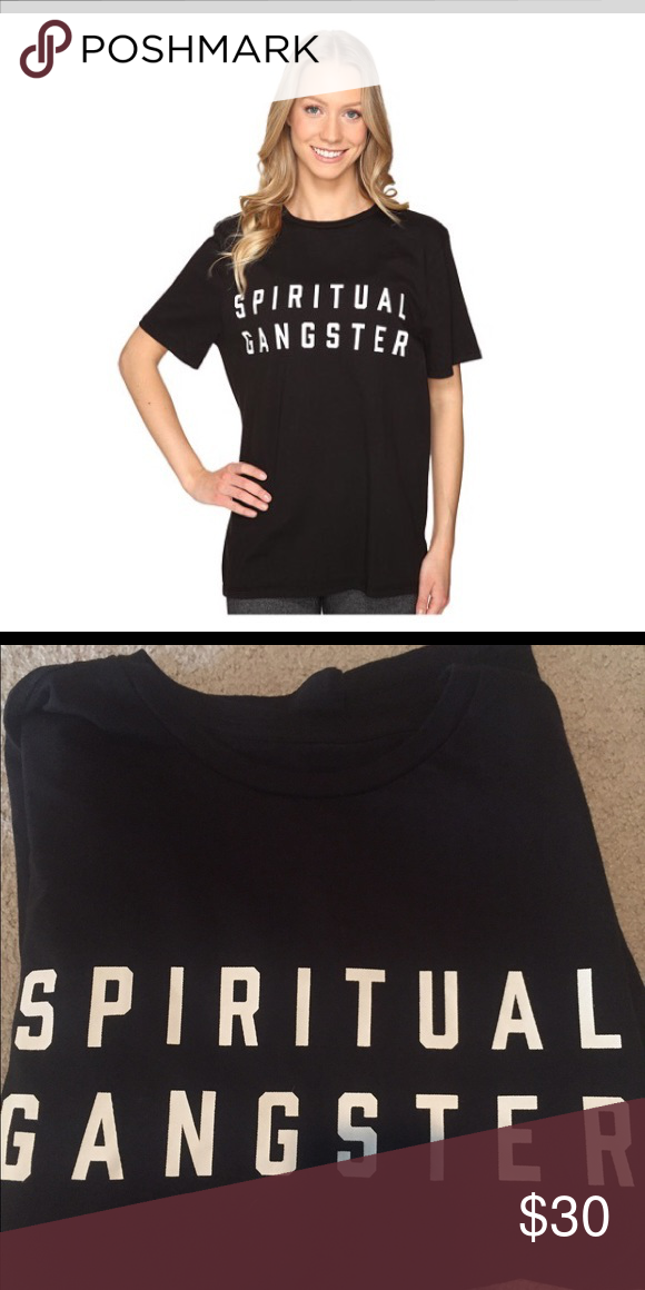 NWT spiritual gangster campus logo vintage tee Size medium spiritual gangster Tops Tees - Short Sleeve