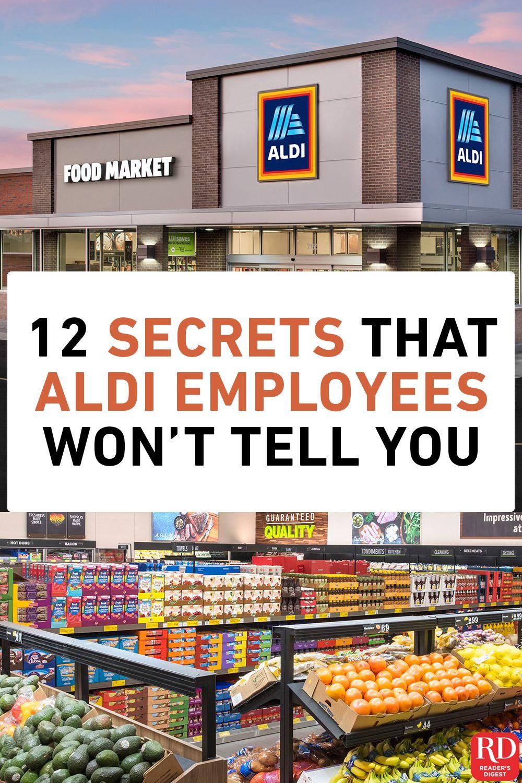 12 Secrets That Aldi Employees Won T Tell You Aldi Recipes Aldi