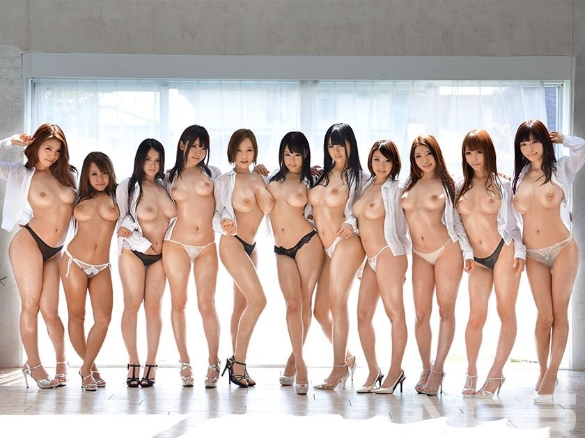Naked japanese girls groups something
